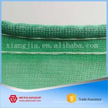 Filet antipoussière de sécurité adapté aux besoins du client avec des oeillets de cordes de protection UV