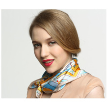 Шелковый галстук с принтом из тонкого шелка