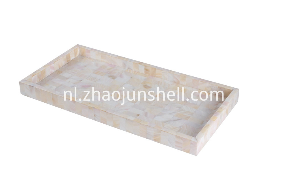 river shell tray
