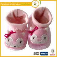 2015 moda animal padrão criança bebê sapatos moccasions inverno
