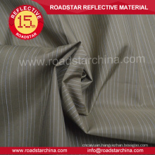 Chambray reflective shirt polyester fabric