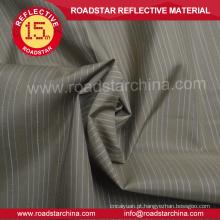Tecido de poliéster cambraia camisa reflexivo