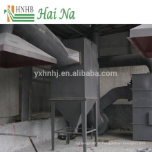 Séparateur d'air de cyclone de poussière pour le nettoyage de poussière