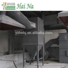 Separador de ar de ciclone de poeira para limpeza de poeiras