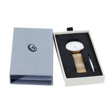 Promotional Custom Luxury Drawer Design Packaging watch box luxury  with Logo
