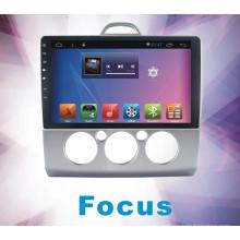Reproductor de DVD del coche del foco del sistema androide para la pantalla táctil con la navegación y el GPS