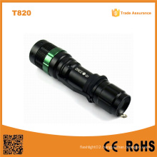 Classic CREE Q5 LED Police Flashlight (POPPAS-T820)