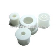 high precision custom fabrication CNC lathe PE parts