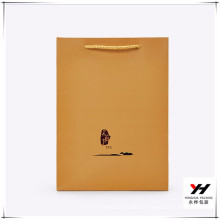 2018 Wholesale Blinking Recyclable Customized Brown Paper Shopping Bag