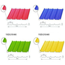 Wall / Roof Color Steel Sheet , Galvanized Corrugated Steel Sheet