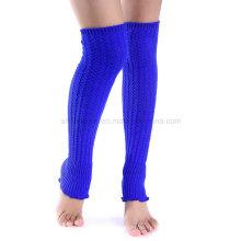 Knit Legwarmer moda pé cobrir cobrir perna
