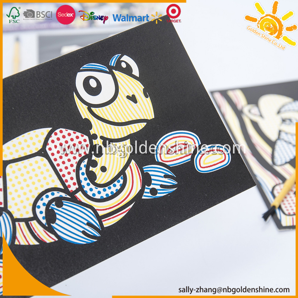 Water Painting Activity Card