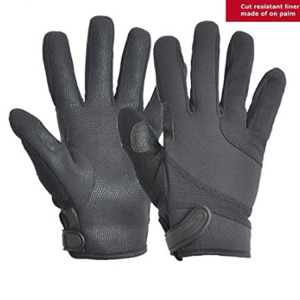 Protective Palm Gray Cut-resistant Anti-corrosion Gloves