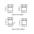 FST800-202 Capteur de pression universel HP universel