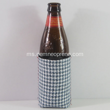Fesyen Gingham Neoprene Beer Can Coolers