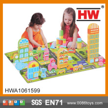 Good Quality puzzle blocks 90 piece play toy kid