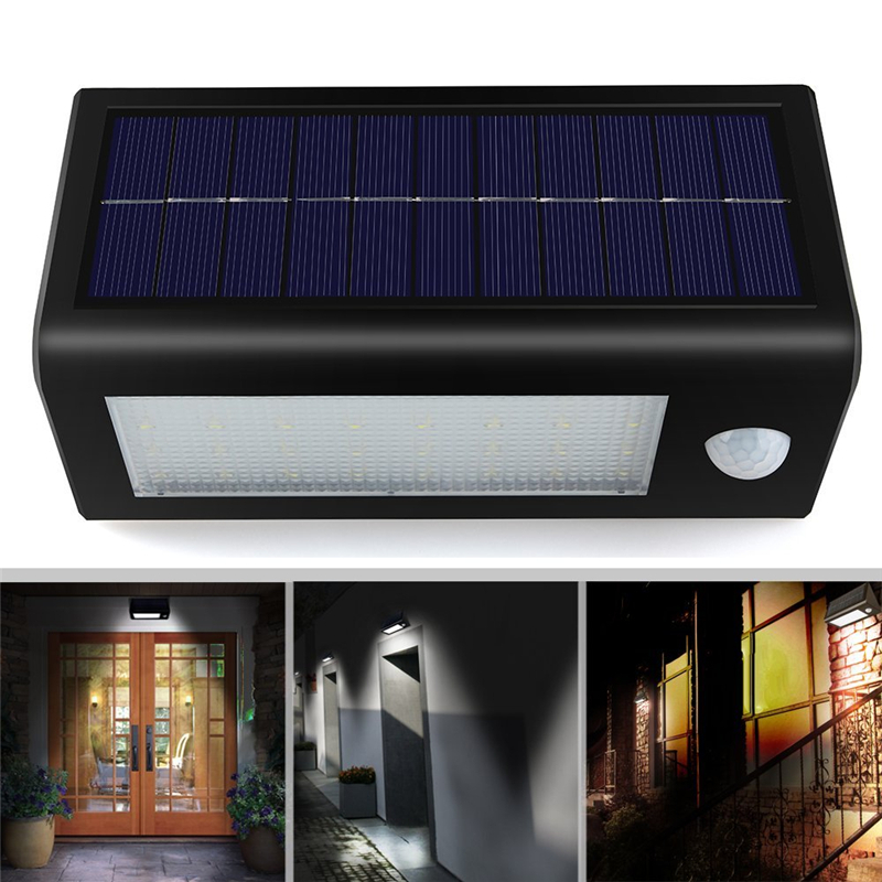 Hight bright wall mounting solar light