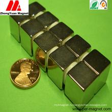 Постоянный магнит NdFeB неодимия 0.5inch
