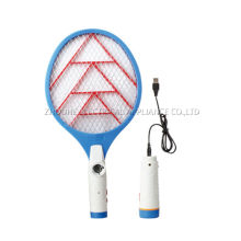 household usb rechargeable electric mosquito fly swatter with torch