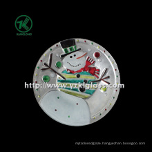 Single Wall Color Glass Plate by SGS (KLP110824-52A)