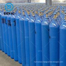 Different Colors High Pressure 150bar/200bar 15L Seamless Steel Oxygen Tank