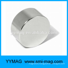 Hot sale customized NICUNI coated neodymium disc N52 magnet