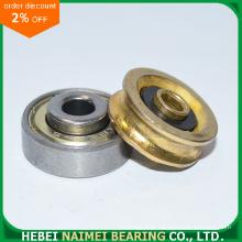 Rolamento de roda de bronze do sulco do sulco do chapeamento U
