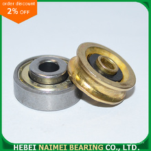 Brass Plating U Groove Pulley Wheel Bearing
