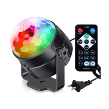 Party Club Disco Laser DJ Lights RGB Magic Crystal Ball LED Stage Lights Multi-function Stage Light