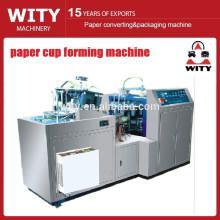 Papierbecher-Falzmaschine