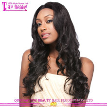 7A Virgin Brazilian Remy Human Hair Glueless Wig Full Lace Natural Wave Hair Wig