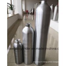 Cylindre en aluminium avec Vale et humidificateur