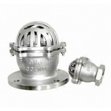 Stainless Steel Flange End Foot Check Valve