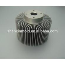 piezas de aluminio personalizadas de la protuberancia con precio de fábrica
