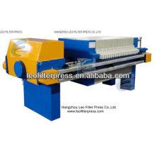 Filtro de Leo prensa prensa de membrana de la industria minera automática