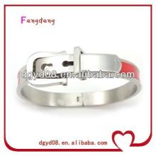 2014 novo design popular 316L pulseira de aço inoxidável