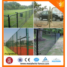 2016 Shengxin supplier steel curved fence gate