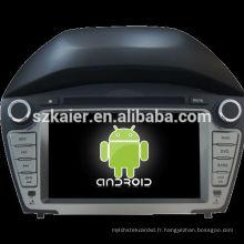 HOT! 4.2.2 VERSION Android système voiture dvd pour 2014 Hyundai IX35