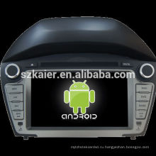 Горячая!4.2.2 версии андроида автомобиля DVD для Хендай ix35 2014