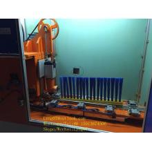 Machine de tufting longue brosse industrielle de 2 axes