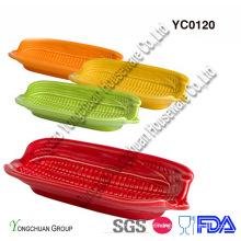 Colorfull milho assar prato para a venda por atacado