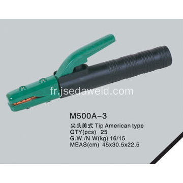 American Tip Type Electrode Holder M500A-3