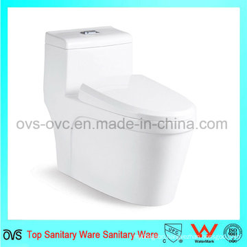 Bathroom One Piece Ceramic Toilet Bowl