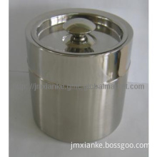 2L stainless steel ice bucket with lid