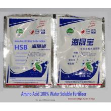 Water Soluble liquid foliar fertilizer with 100% Amino Acid