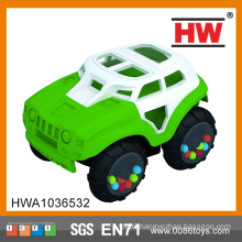 New Design Free wheel car rubber car small car toy
