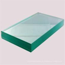 Vidro claro decorativo blindado de 8mm do fornecedor de vidro