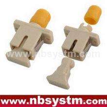 SC / PC - FC / PC HYBIRS plástico Adaptador singlemode simplex