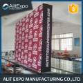 Beauty trade show fabric pop up display backdrop