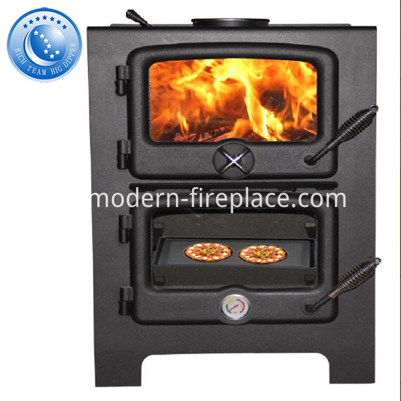 Steel Plate Wood Burning Stoves With Oven